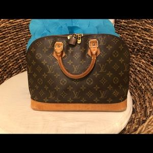 Authentic Alma vintage LV